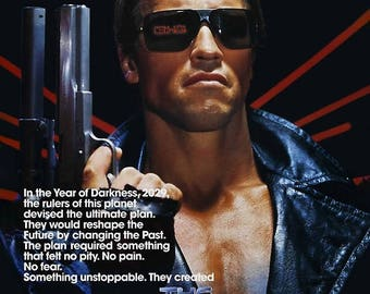 The Terminator 50x70 Poster
