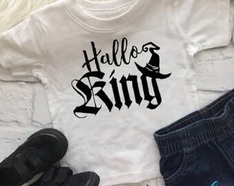 Halloking shirt | Wizard shirt | Toddler wizard tee | Halloween shirt | Toddler boy Halloween shirt | King shirt | Boy Halloween shirt