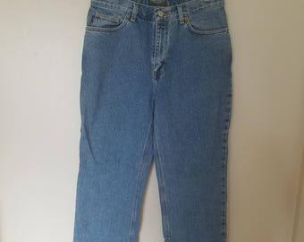 Ralph Lauren Vintage High Waist Mom Jeans 1990s, 90s