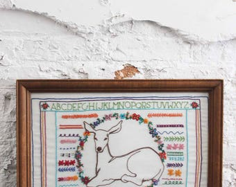 Darling Deer Stitch Art