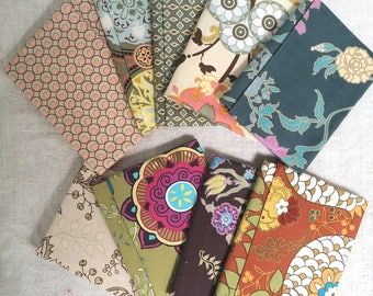 Fabric / fabric patchwork ART GALLERY set of 9 fat quarters 50 x 55 cm assorted