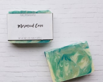 Cedarwood Rosemary Soap: Bar Soap, Handmade Soap, Cold Process Soap, Vegan Soap, All Natural Soap, Palm Free Soap