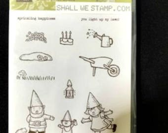 Gnome Sweet Gnome Clear Mount Stamp Set by Stampin' Up!