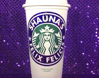 Harry Potter Felix Felixcis Starbucks Travel Coffee Cup