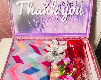 Thank You YouAreBeautifulBox. Thank You Gift Thank You Care Package Thank You Gift Box. Friend Appreciation Gift Personalized Thank You Box