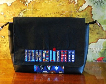 Doctor Who inspired Whovian Small Messenger Bag (Free Shipping)
