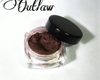 Mineral Makeup - Eyeshadow - Mineral Eyeshadow - Fall Makeup - Fall Eyeshadow - Gifts For Her - Gifts Under 5 Dollars - Burgundy Eyeshadow