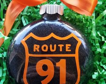 Route 91 Memorial Ornament - Route 91 Shield