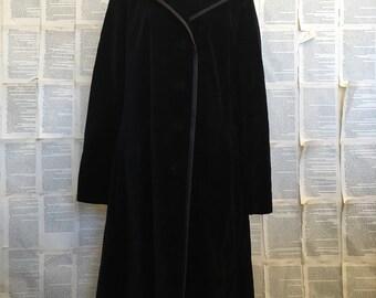 Vintage Surrey of Canada Velevet Trench Coat
