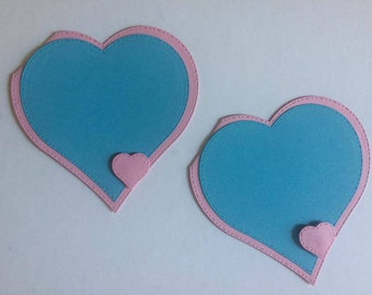 Customizable set heart 12 postal units