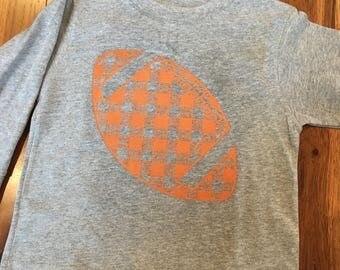 Boys Football tshirt, toddler football shirt, tennessee shirt, boys custom football shirt, personalized fooball shirt, florida gators shirt