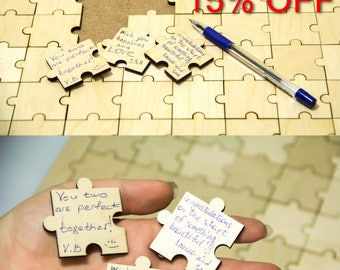 Wedding guest book Wedding puzzle Personalized puzzle Unique guest book ideas Guest book alternative Custom guest book Wedding Jigsaw