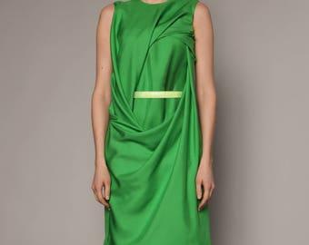 Ellipse drape dress