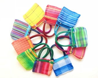 Mexican mercado bag, Mercado bag, Mexican wedding favors, Mexican party, Mini mercado bags, Mexican party favors, Fiesta decor, SET OF 10