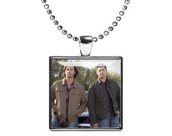 Sam Winchester Supernatural Necklace Pendant Jared Padalecki Fandom Jewelry Cosplay Fangirl Fanboy