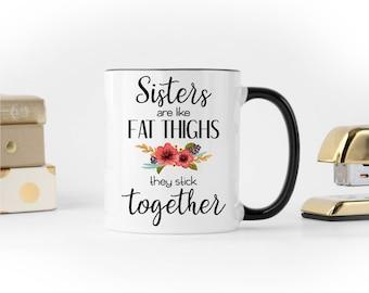 Sister Coffee Mug, Funny Sister Mug, Gift for Sister, Worlds Best Sister, Funny Coffee Mug, Sister Mug, Best Sister Ever, Sister Coffee Cup