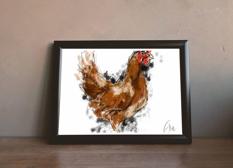 Atemberaubend Huhn Küchendekor Zeitgenössisch - Küchenschrank Ideen ...