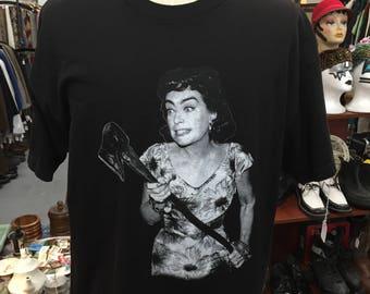 Joan Crawford in Straight-Jacket Tee T-Shirt Sz XL