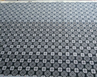 Elementary-Black and White Cotton Fabric from Moda Fabrics