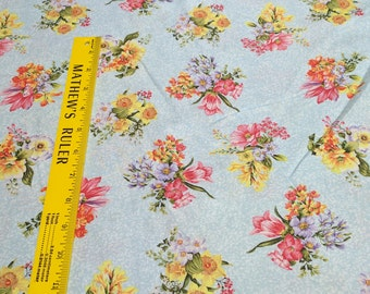 Botanical Society-Small Tossed Flowers Cotton Fabric from Fabri-Quilt