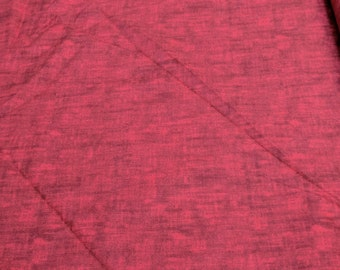 Bella Casa Texture-Red Cotton Fabric from Fabri-Quilt