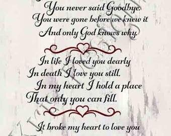 Missing You Always SVG PNG JPG