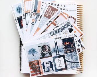 Frozen DELUXE Weekly Kit (stickers for Erin Condren Life Planner - Vertical)