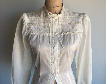 Vintage 1950s Betty Blouse