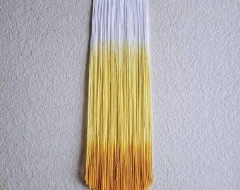 SOL | mini dip dye wall hanging