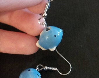 Happy fish earrings