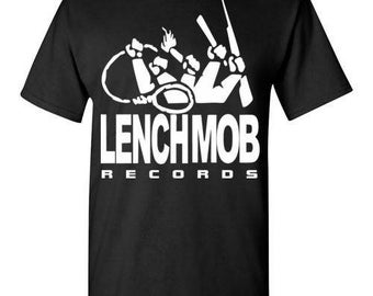 Lench Mob Records, Ice Cube , West Coast Hip Hop, Gangsta Rap , Shirt Tee T-shirt