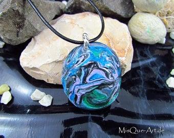 "Necklace pendant ""Gaia's Earth"""