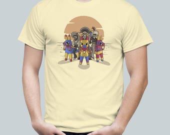 Piñata Bandits / Western Sombrero Tee / Cinco de Mayo Mexican Label / Mens T Shirt