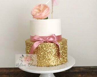 Ballerina Cake Topper or Cupcake Topper- Ballerina Party/Ballerina Birthday/Ballerina Cake/Ballet decor/Ballet Party/Pink Ballerina/Ballet