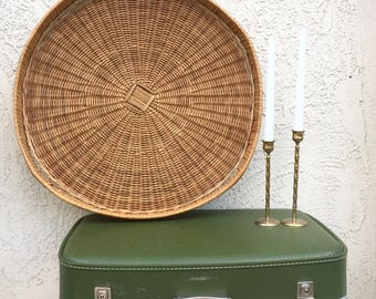 Woven Basket Wall Art wall baskets | etsy