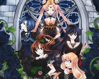 """""""Dark Senshi"""" poster A3"""