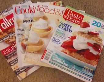 Four Recipe-Filled Magazines!