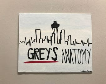Grey's Anatomy painting