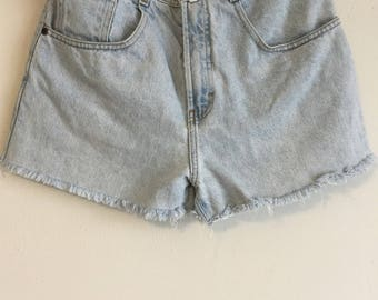 1980s Vintage Women's Structure Jeanswear Shorts