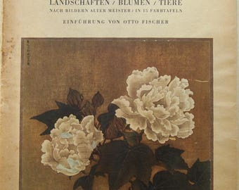 Vintage Oriental Print Book 1935