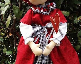La Regina Rossa- The Red Queen (Alice in Wonderland)