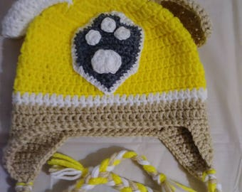 Rubble Paw Patrol Inspired Hat