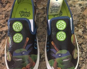 Teenage Mutant Ninja Turtles canvas shoes