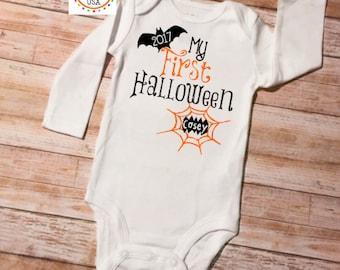 1st Halloween, First Halloween, My 1st Halloween, Halloween Outfit, Halloween Baby, Halloween Onesie, 1st Halloween Outfit, Baby Halloween