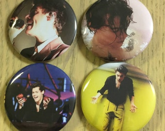 Harry Styles Pinback Buttons 2017-2.25 inch NEW!