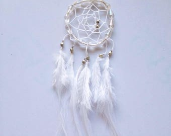 Feather Bead Dream Catcher