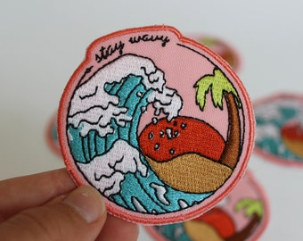 Stay Wavy Patch