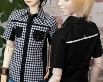 BJD SD clothes shirt with short sleeve