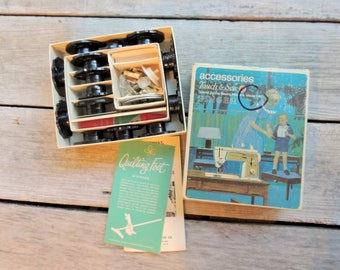 Vintage SINGER Accessories Touch & Sew Special Zig-zag Sewing Machine ~ Model 648 Part no. 171128