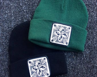UNS Four Corners Leaf patch/Beanie